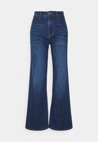 s.Oliver - Flared Jeans - blue stret - 0
