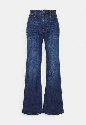 Flared Jeans - blue stret