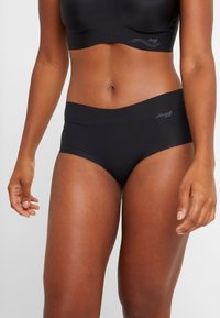 Sloggi - SHORT 2 PACK - Underbukse - black - 1