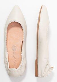 Unisa - ASPAS - Ballet pumps - ivory - 3