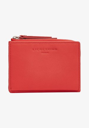 Wallet - chilli red