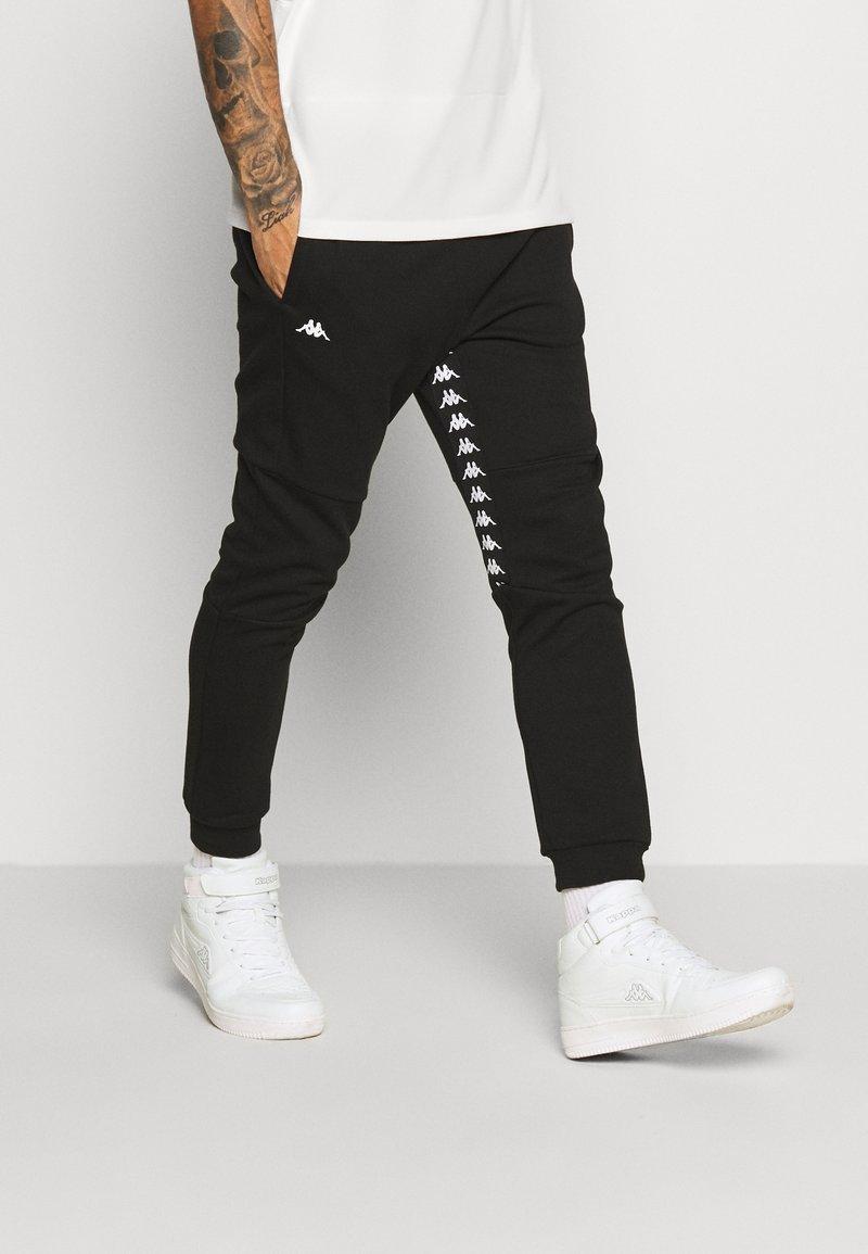 Kappa - GIBRAW - Pantalones deportivos - caviar