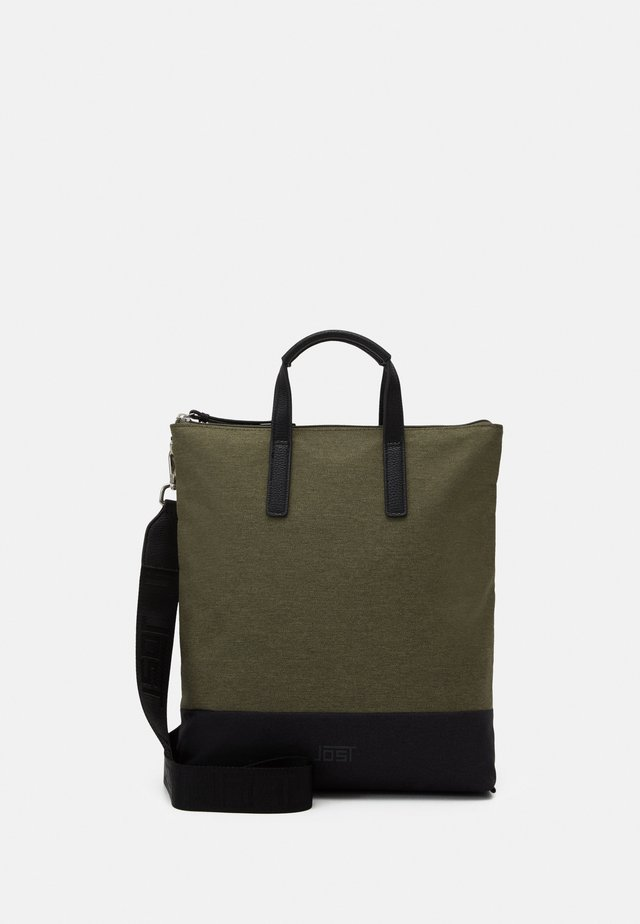 X CHANGE BAG - Shopping bag - olive