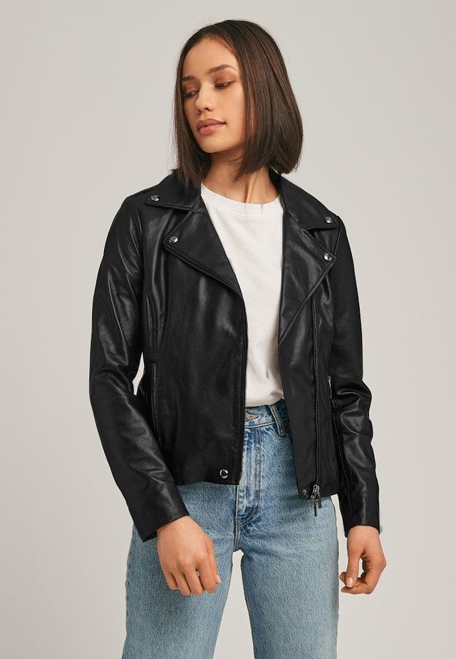LOIS  - Leren jas - black