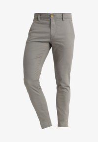 Blend - SLIM FIT - Chino kalhoty - granite - 5