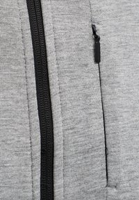 Hummel - HMLTROPPER - Zip-up hoodie - grey melange - 3