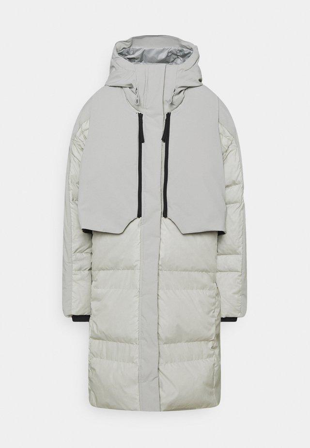 MYSHELTER URBAN COLD - Abrigo de plumas - metgry/white