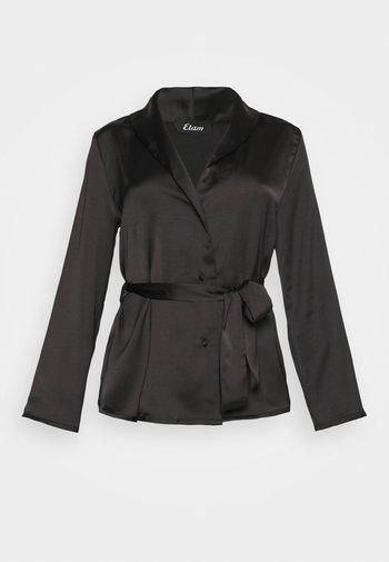 ERINA CHEMISE - Pyjama top - noir