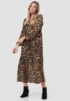 LEO PRINT - Maxi dress - braun