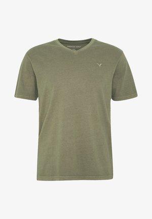 BUTLER - Basic T-shirt - olive