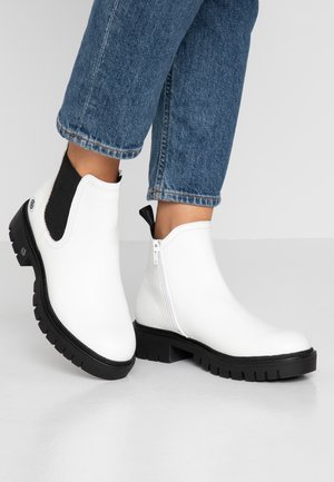 Ankle boots - weiß