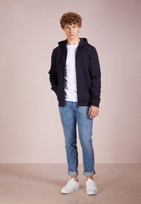 Emporio Armani - FELPA - Zip-up hoodie - blu - 1