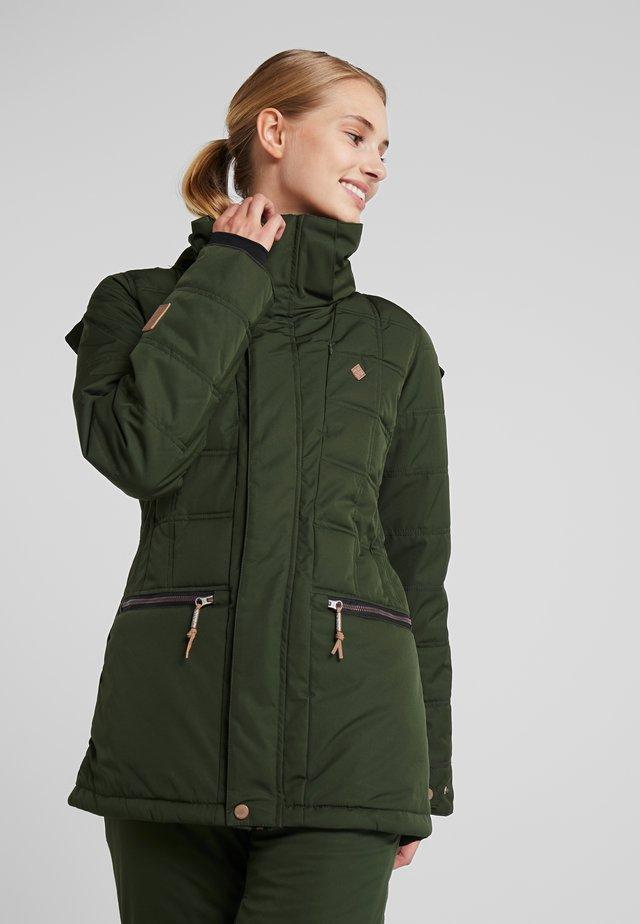 PALOMA JACKET - Snowboard jacket - kombu green