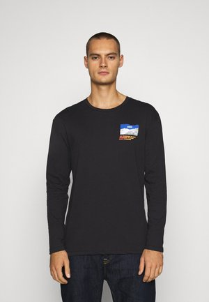 JORCHANGES TEE CREW NECK - Long sleeved top - black