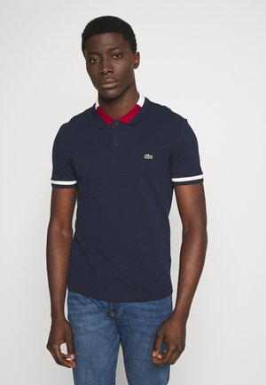 PH5095 - Polo shirt - navy blue/flour/bordeaux