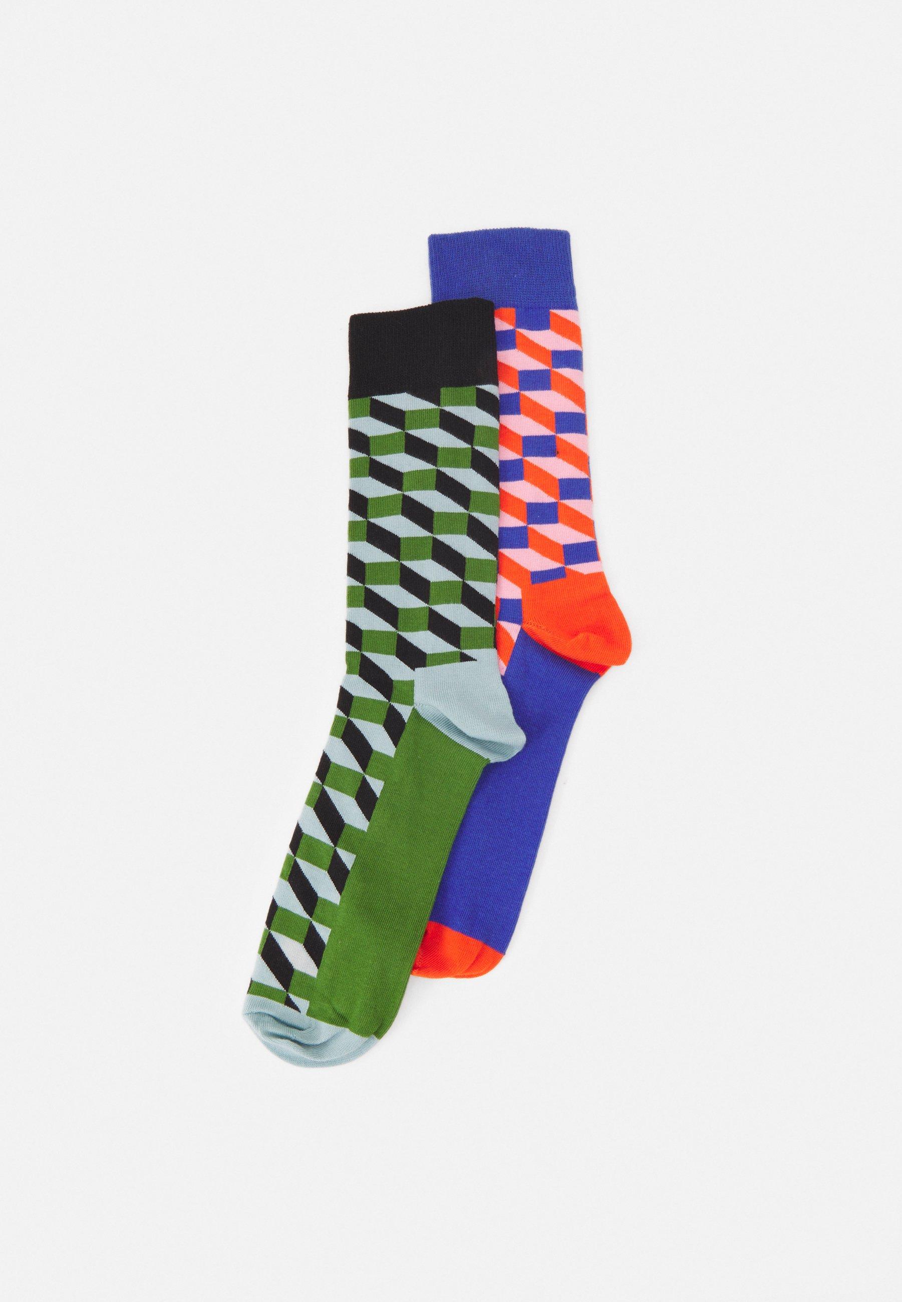 Men FILLED OPTIC 2 PACK UNISEX - Socks