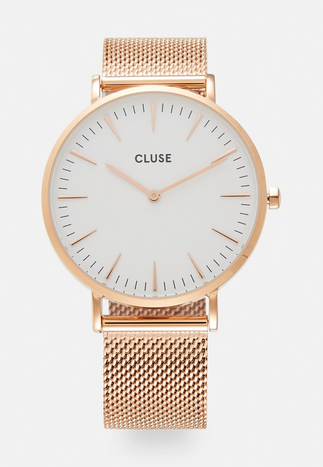 LA BOHÈME - Watch - rose gold-coloured/white