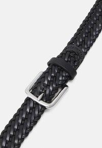Anderson's - BELT UNISEX - Pletený pásek - black - 3