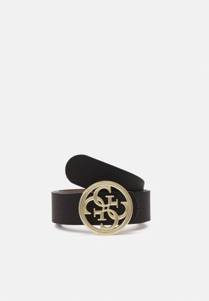 KIRBY NOT JUST PANT BELT - Pásek - black/mauve