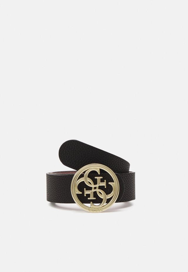KIRBY NOT JUST PANT BELT - Gürtel - black/mauve