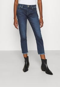 7 for all mankind - ASHER LUXE VINTAGE REJOICE - Jeansy Slim Fit - mid blue - 0