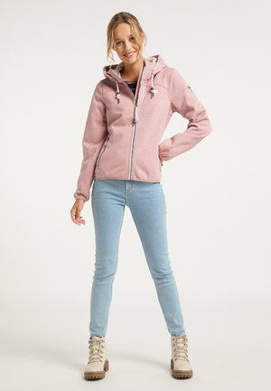 Light jacket - rosa melange