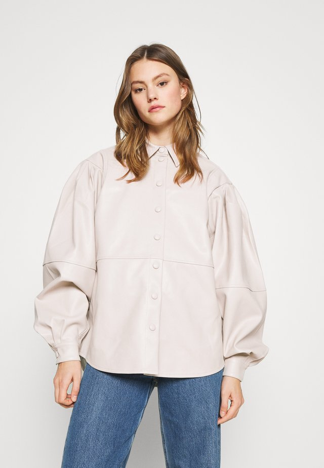IDOL SEAMED SHIRT - Pusero - cream