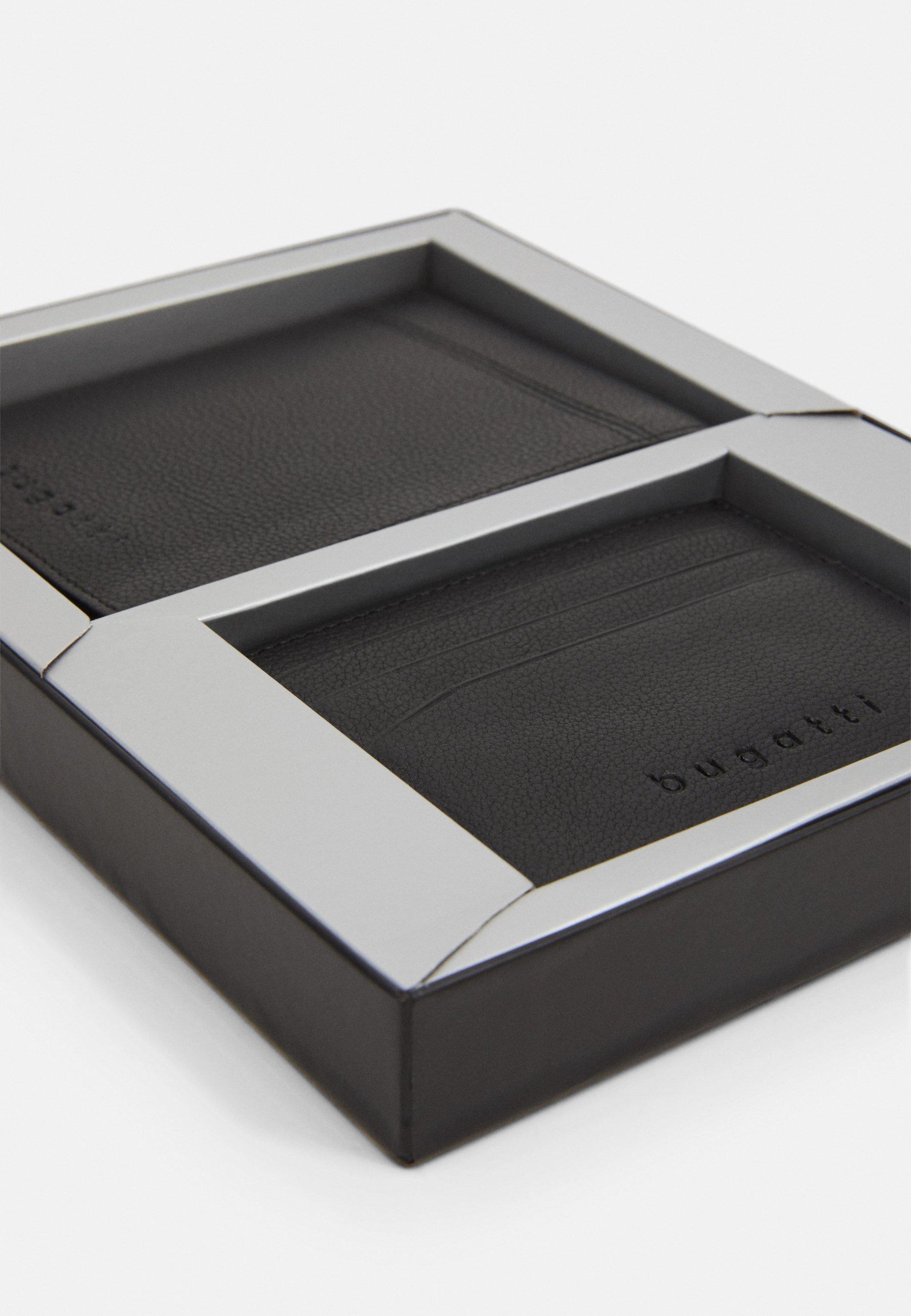 Bugatti WALLET CARD HOLDER SET - Geldbörse - black/schwarz - Herrentaschen JQZ0j