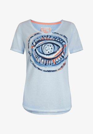 DAJEL - Print T-shirt - bleu