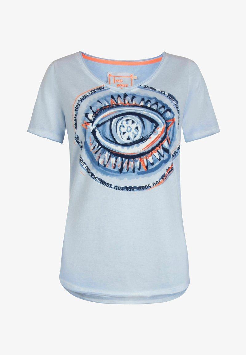 Lieblingsstück - DAJEL - Print T-shirt - bleu