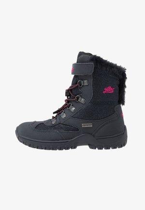 SASKIA - Śniegowce - marine/pink
