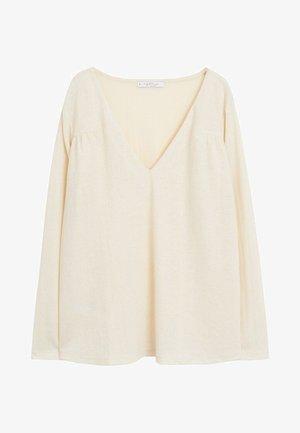 JULES6 - Long sleeved top - ecru