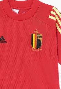 adidas Performance - BELGIUM RBFA TRAINING SHIRT - Klubové oblečení - red - 3