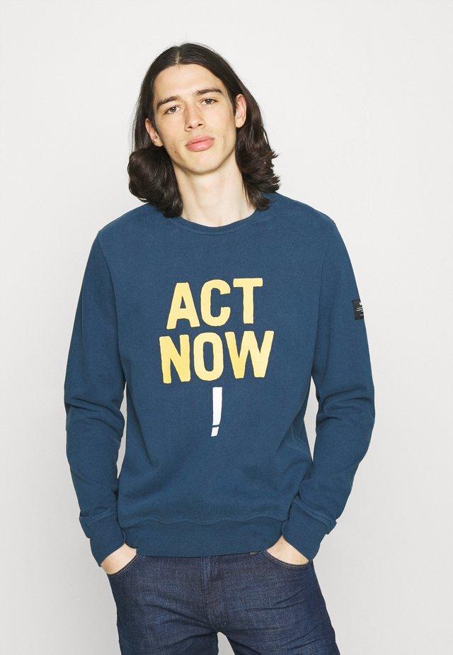 ALTAMIRA ACT NOW MAN - Sweatshirt - navy