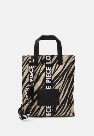 TIGER LOVE PIECE SHOPPER HIGH - Tote bag - black