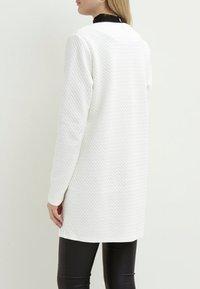 Vila - VINAJA NEW LONG JACKET - Summer jacket - white - 2