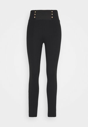 PANT - Leggings - Trousers - nero