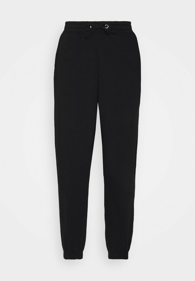 Missguided Petite - OVERSIZED 90S - Tracksuit bottoms - black
