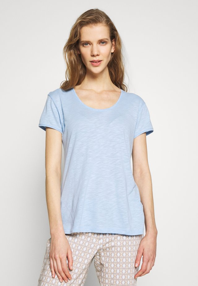 Basic T-shirt - placid blue