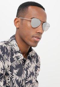 Prada Linea Rossa - Sunglasses - silver-coloured - 1