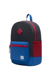Herschel - School bag - black reflective/lapis blue reflective/red light - 2