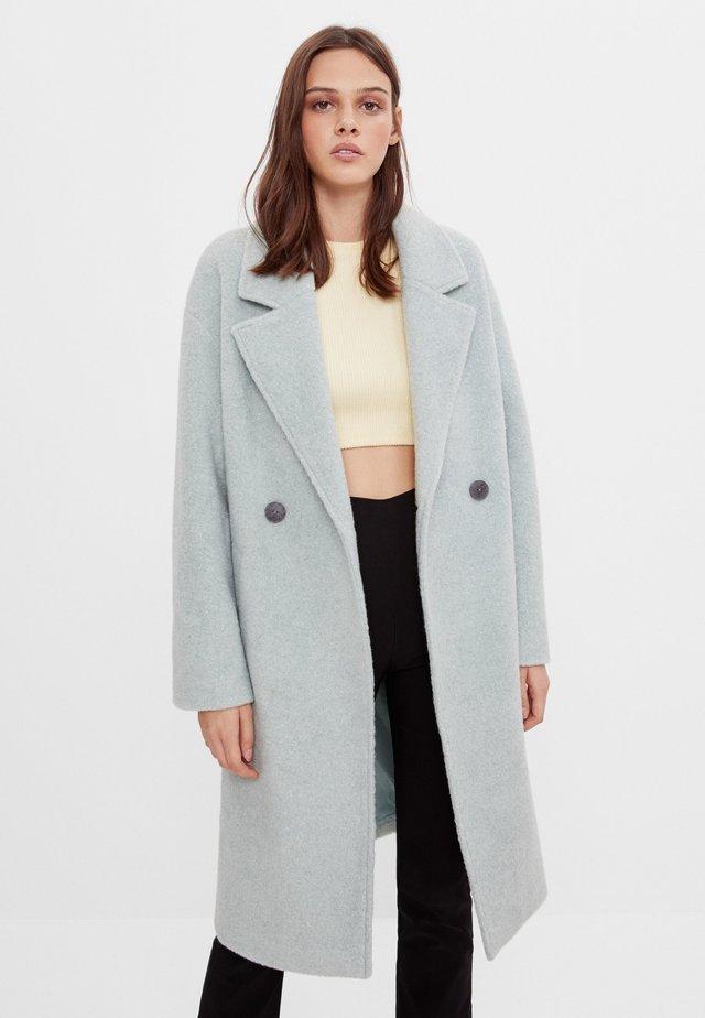 Zimní kabát - turquoise