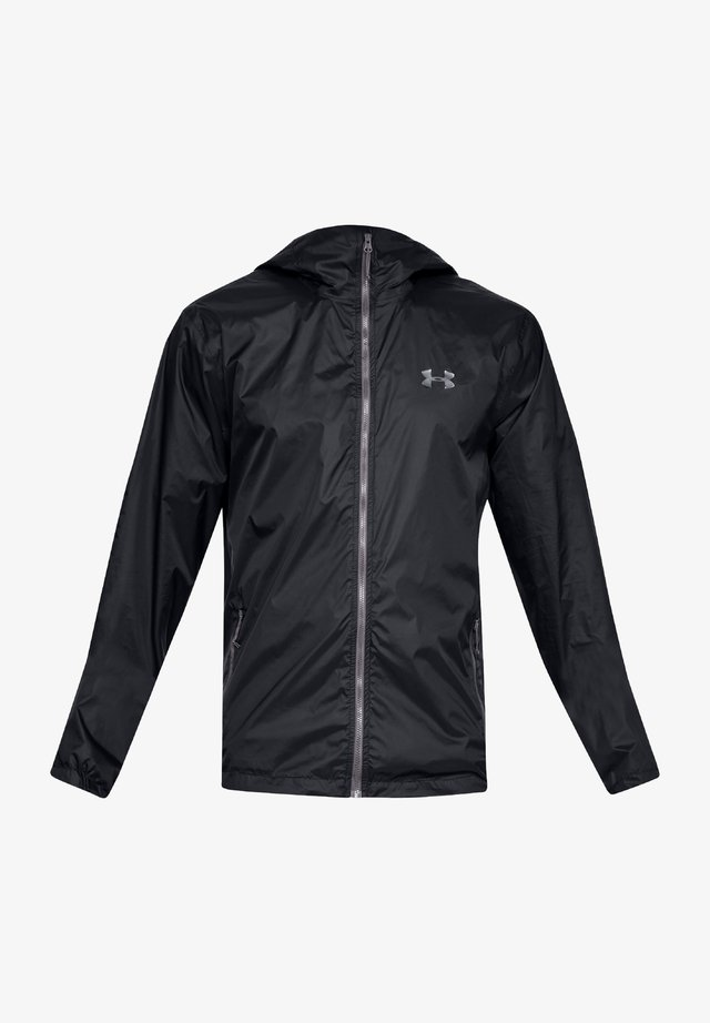 Waterproof jacket - black-steel (1321439-001)