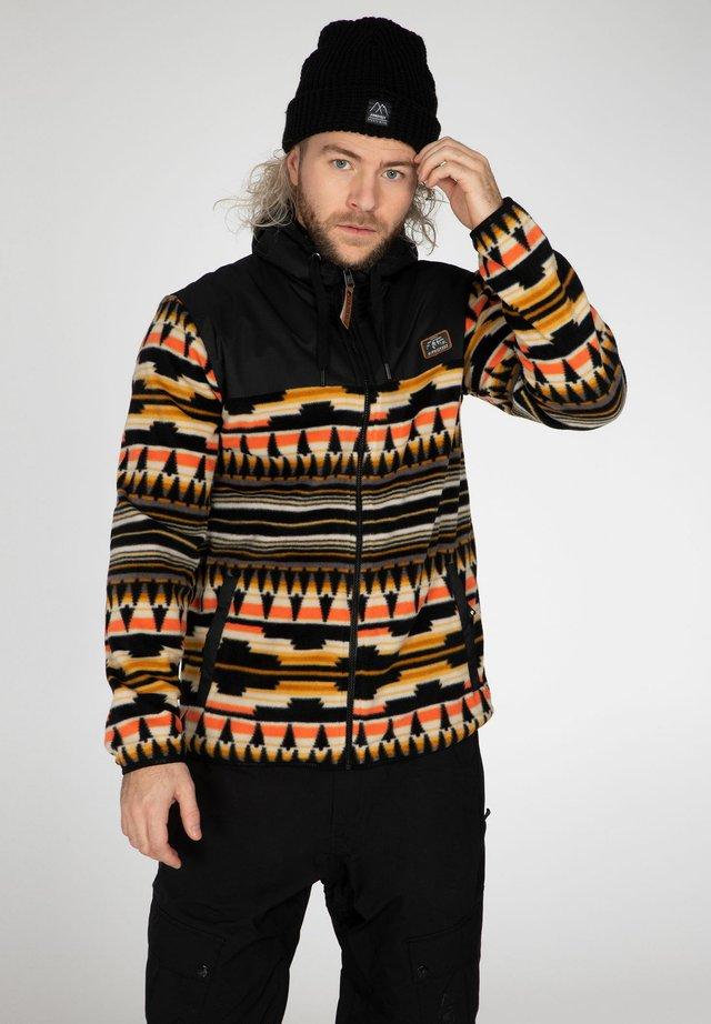 GRIND - Fleece jacket - dark yellow