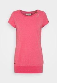 Ragwear - LESLY - Jednoduché triko - pink - 4