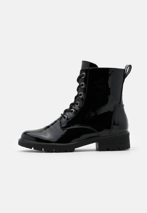 WOMS  - Lace-up ankle boots - black