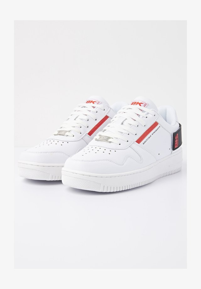 SNEAKER JUNE BR - Sneakers - white/black/red