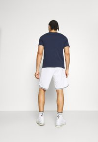 Champion - CREWNECK - T-shirt imprimé - dark blue - 2