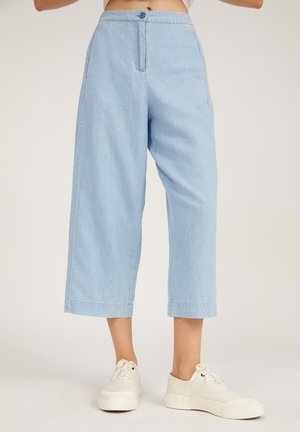 Trousers - foggy blue