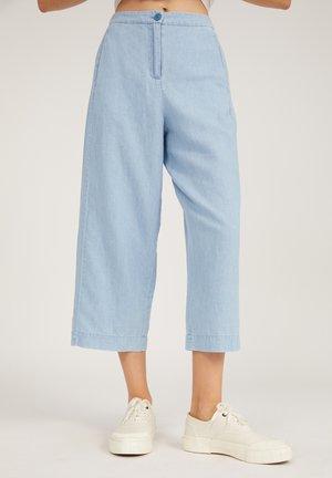 KARUNAA - Trousers - foggy blue